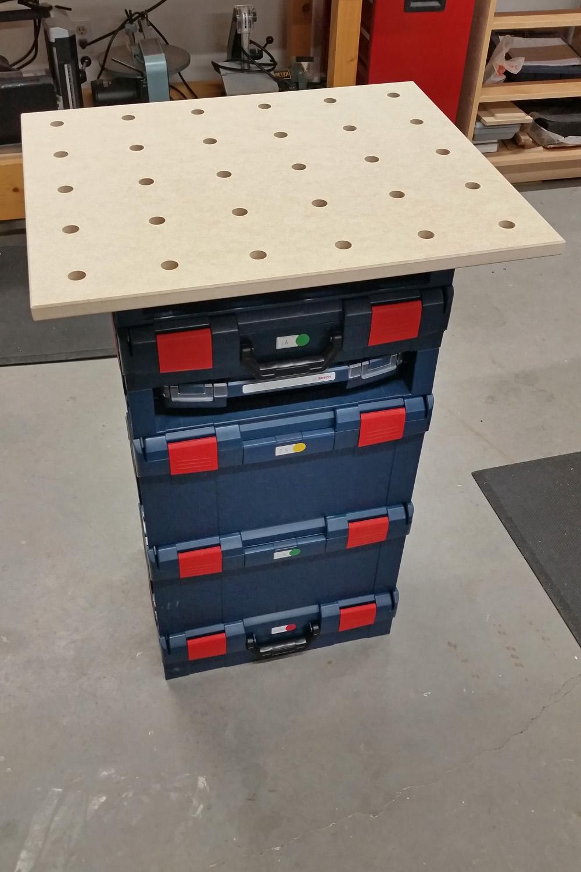 The MPT L-Boxx Worktop