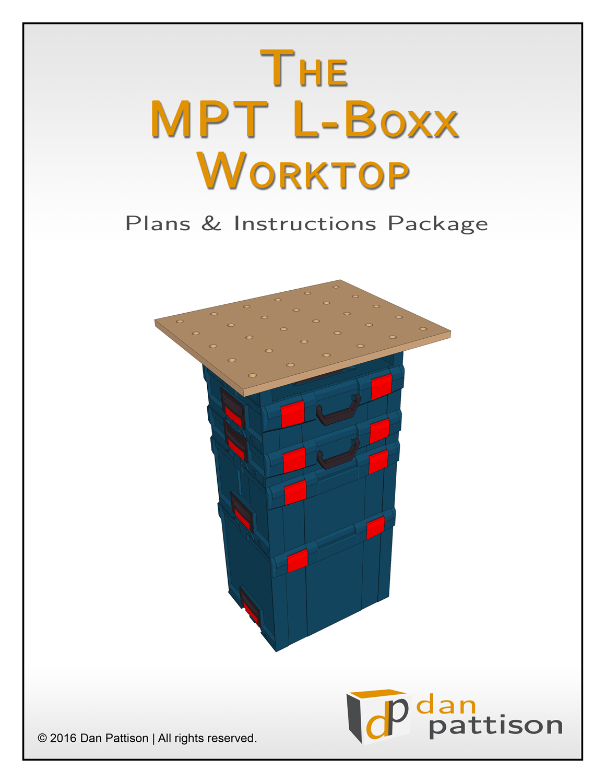 MPT L-Boxx Worktop Plans & Instructions