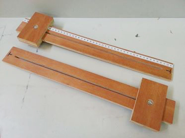 Track saw parallel guides