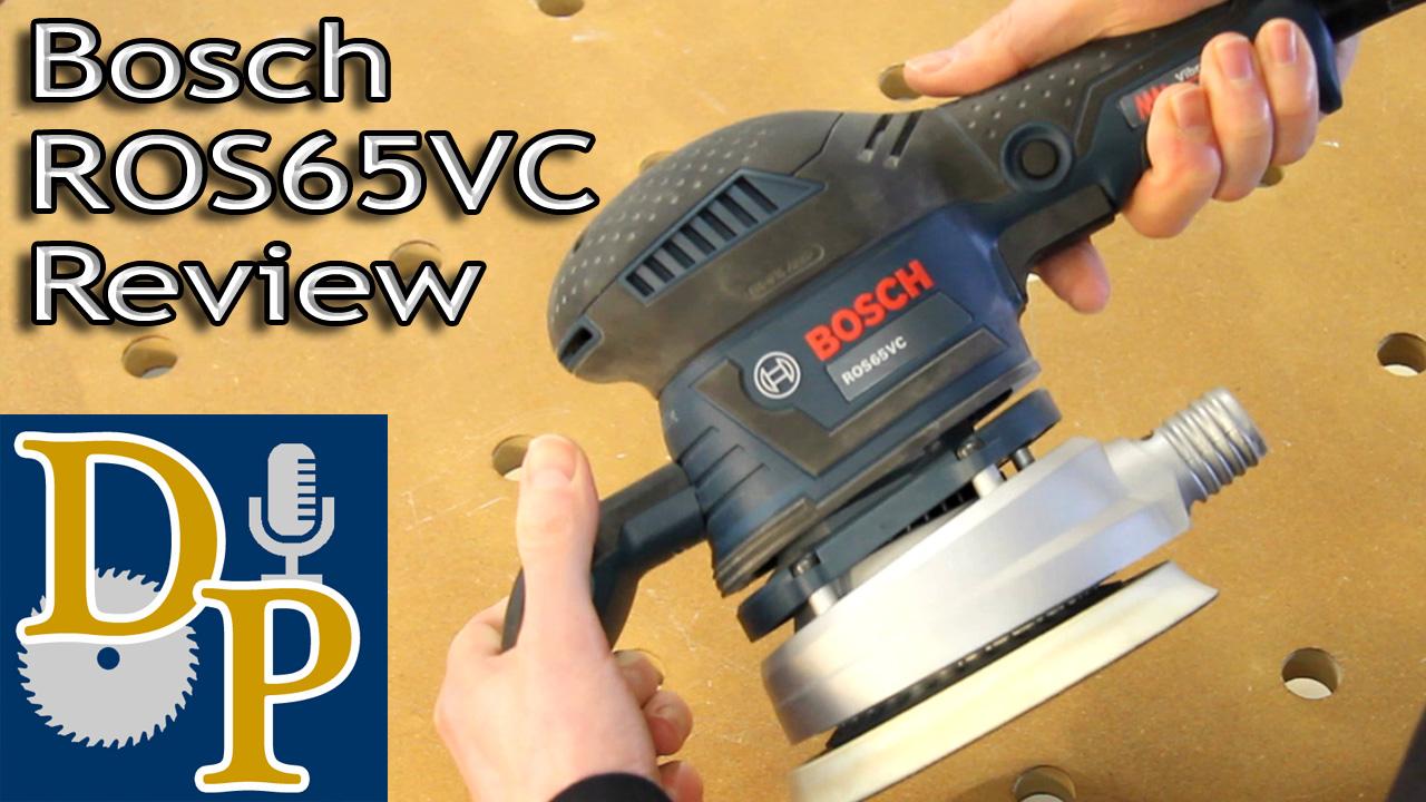 Bosch ROS65VC Random Orbit Sander Review