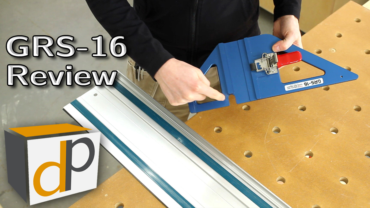 GRS-16 Track Saw Guide Rail Square Review