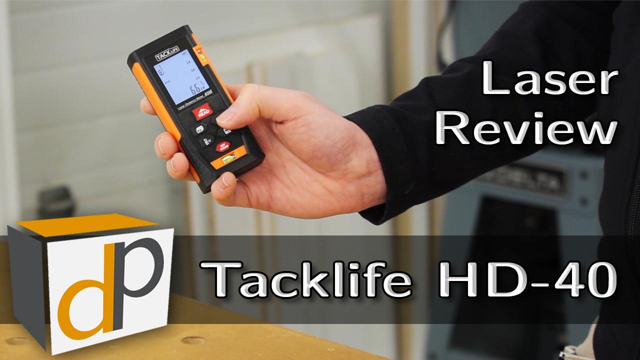 Tacklife HD-40 Laser Measure Review