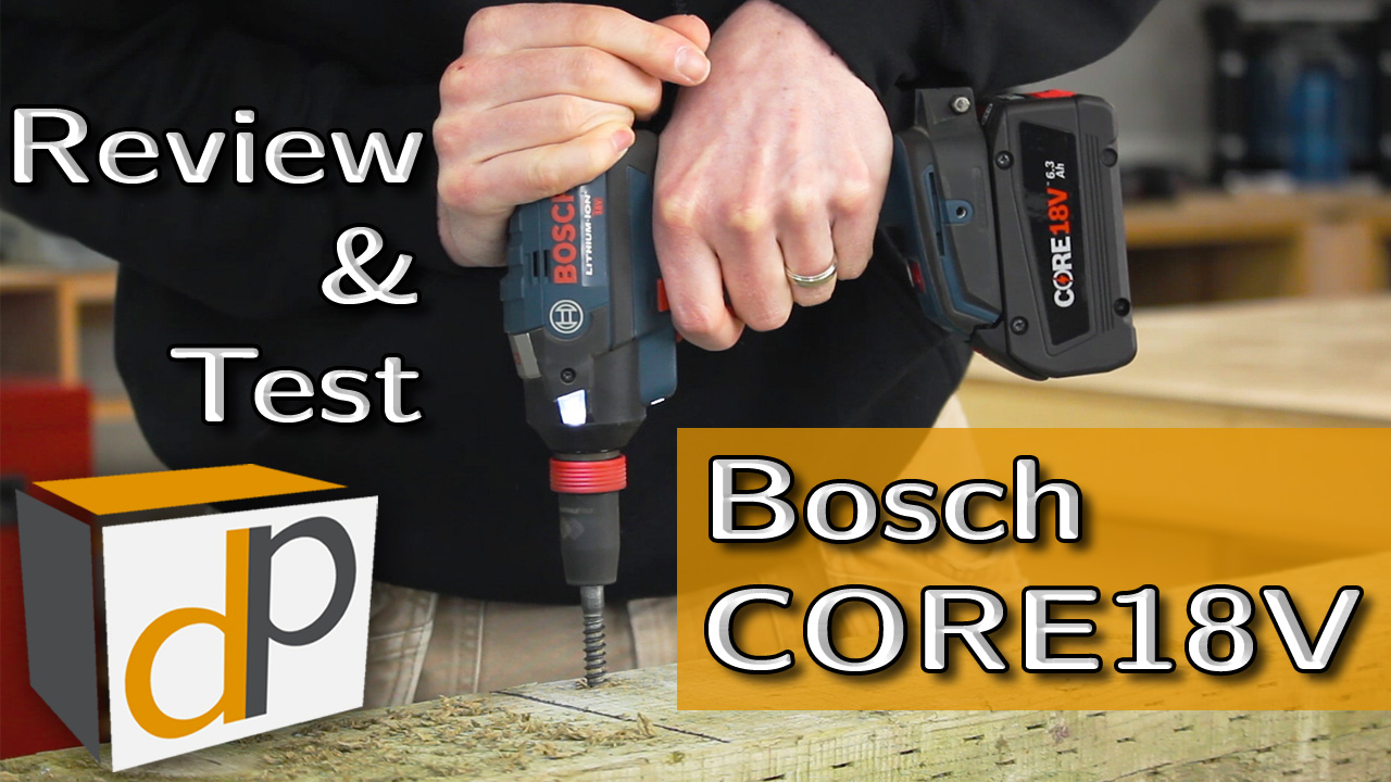 Bosch CORE18V 6.3 Ah Battery - Full Review & Test
