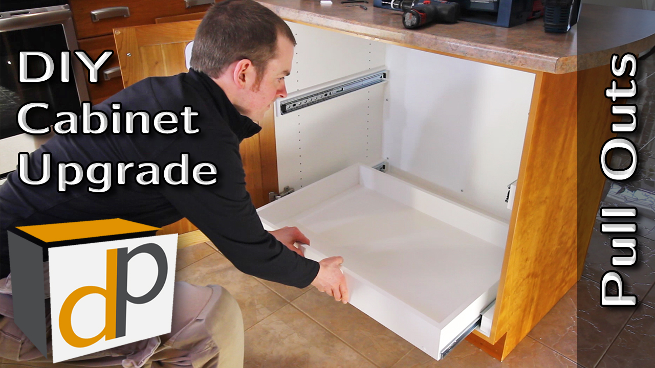 How to Build & Install Pull Out Shelves - DIY Guide