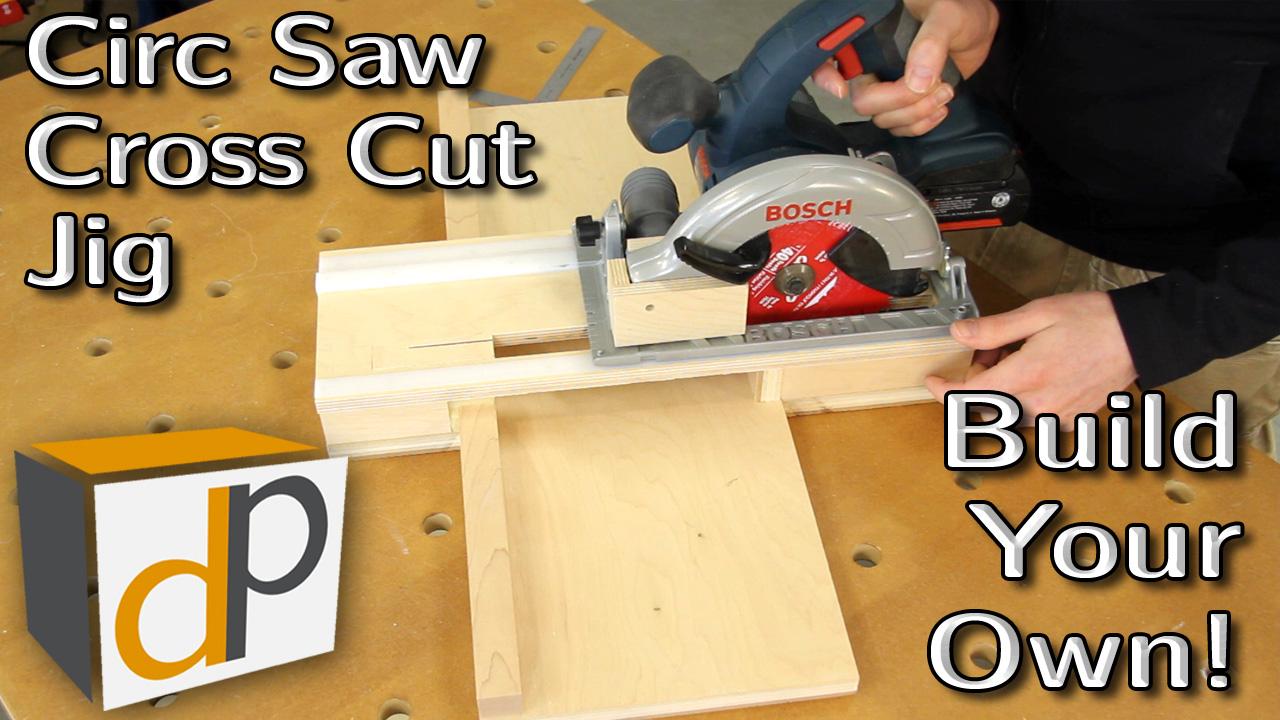 How to Build a Circular Saw Cross Cut Jig - Pt 2