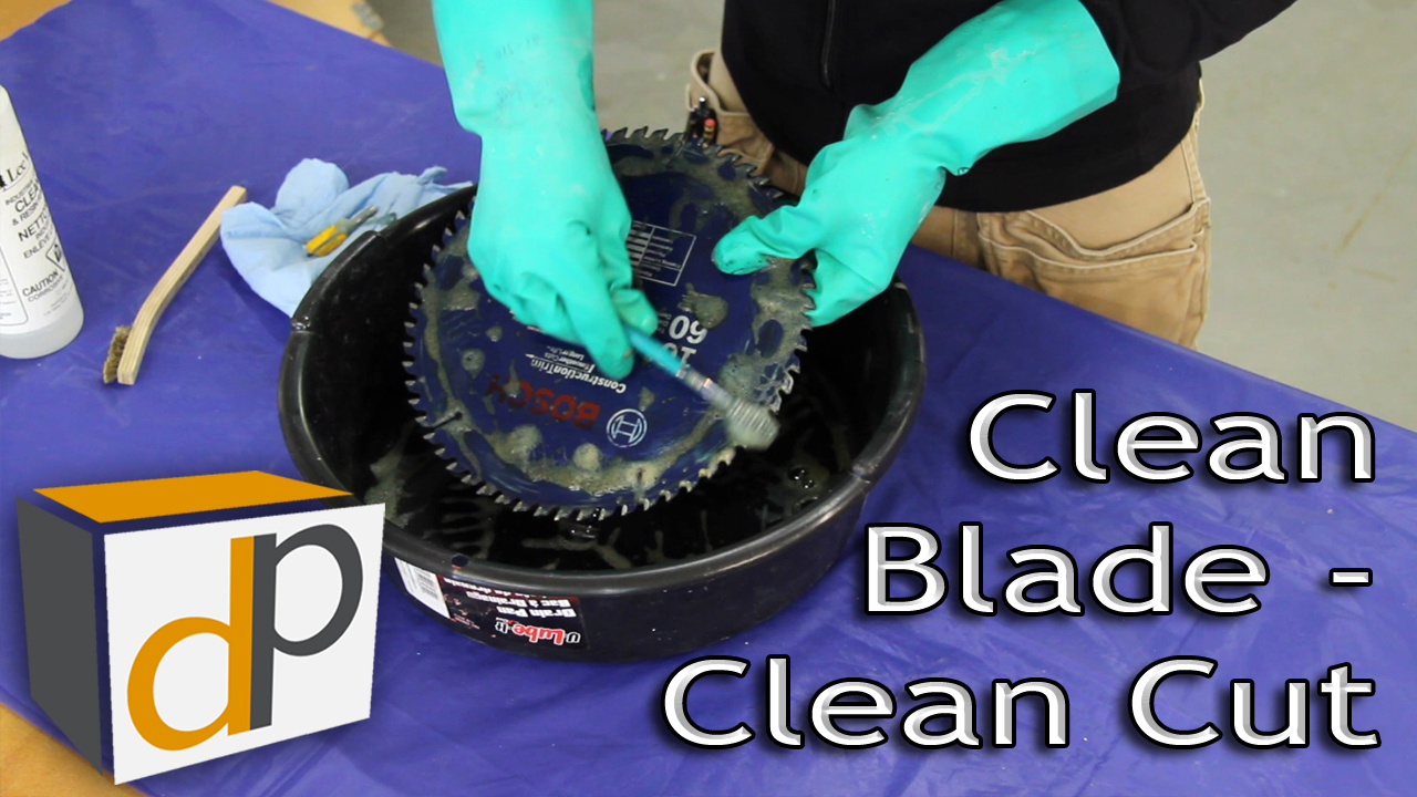 How to Properly Clean Saw Blades and Router Bits for Peak Performance