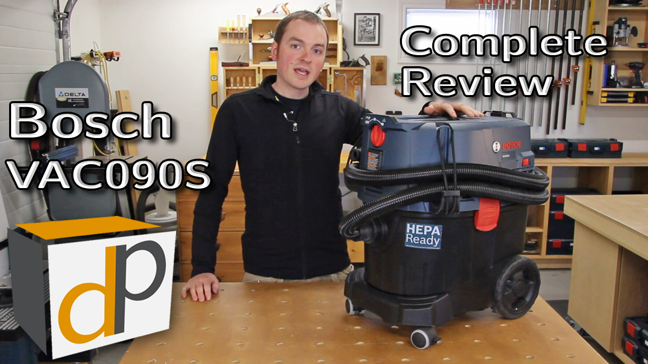 Bosch VAC090S Dust Extractor Review