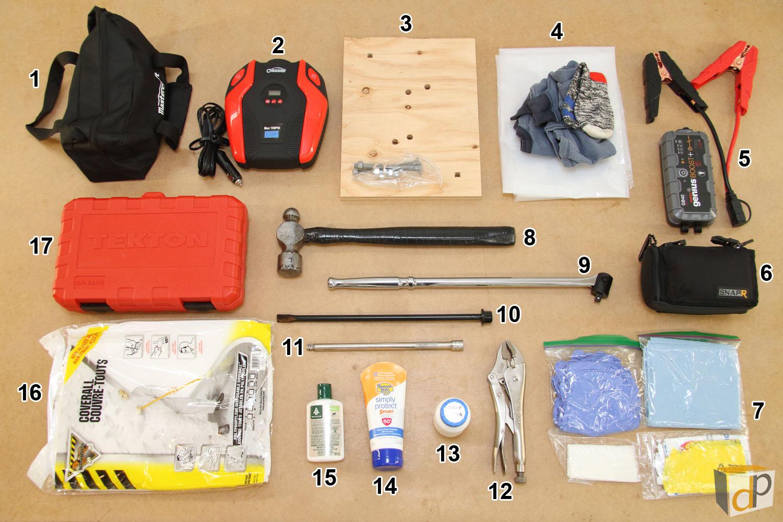 Photo #4 - Roadside Repair Tool Kit Unpacked