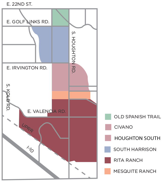 Ward 4 Houghton Road Area Neighborhoods