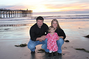Nicole and Ian Schere, USCD Birth Center