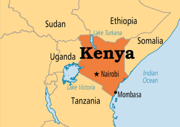 map of kenya - guided tour tours to kenya by passion travel services.png