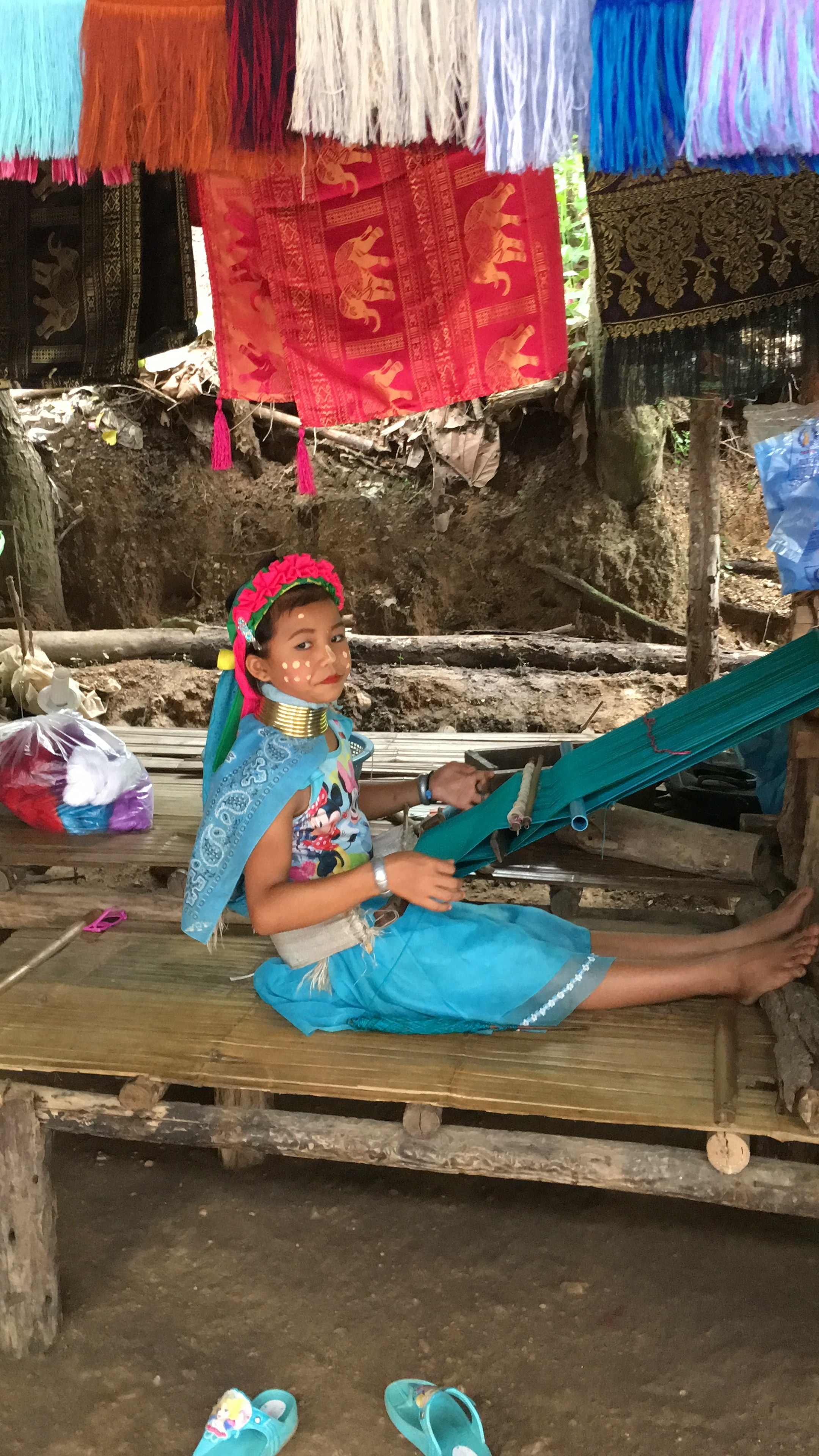 little girl in karen hill tribe thailand - guided tours with passion travel services.JPG