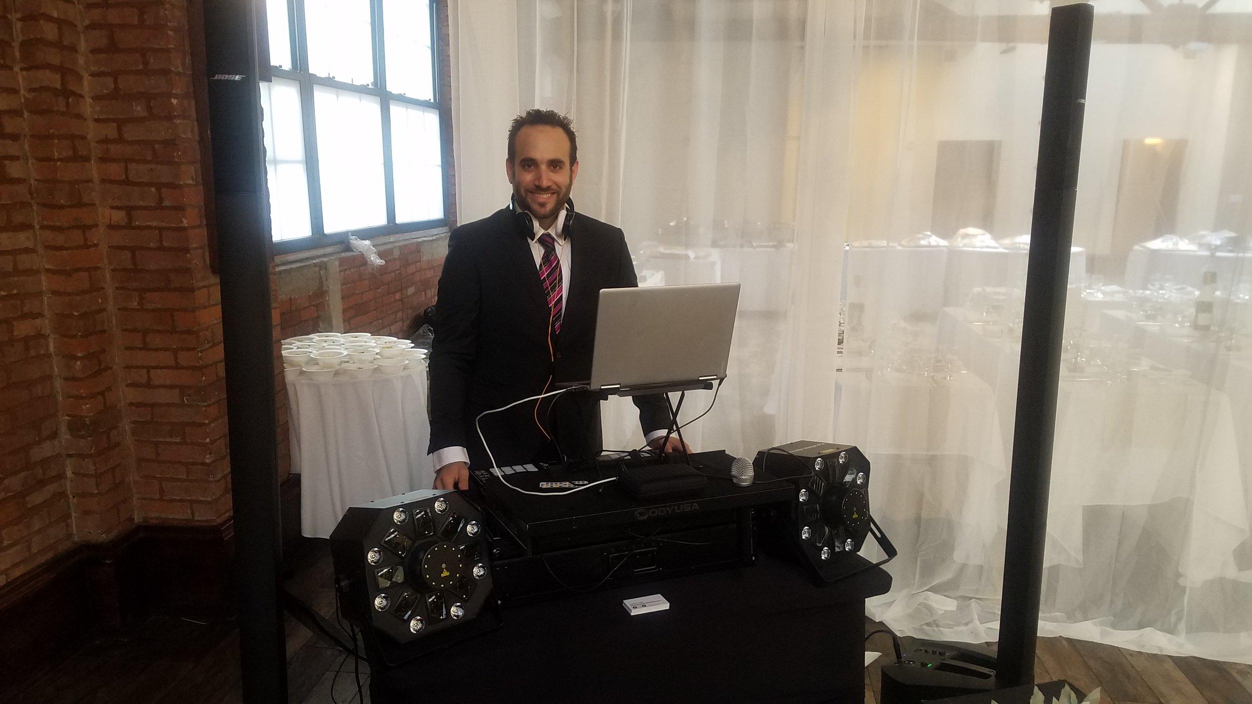 DJ Michael Demby at Rena and Jason Wedding.jpg