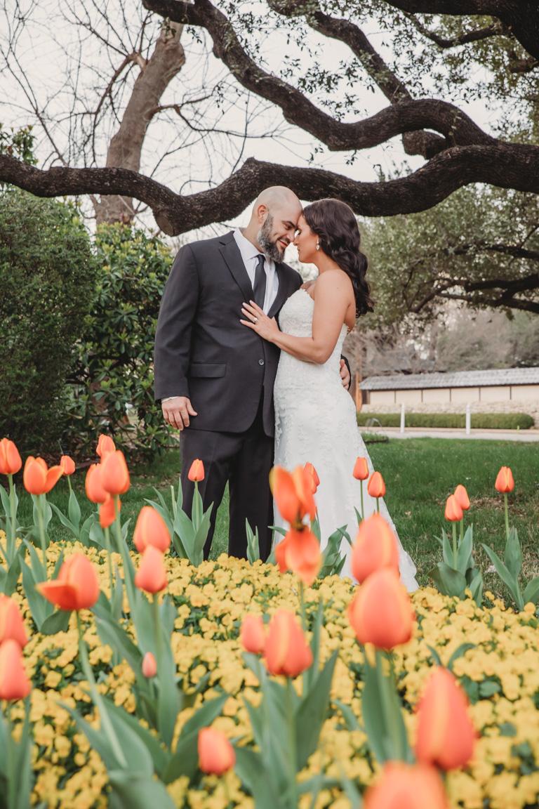 Larry + Mary Beth DFW wedding