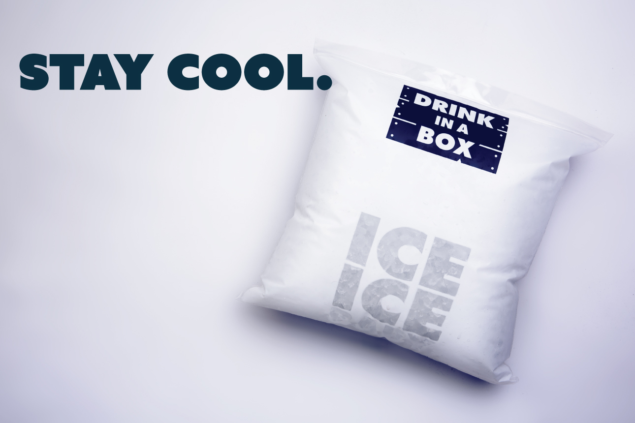 - Our boxes are designed to be used on the day of delivery. They can last longer and if kept cool, fresh ingredients can last many days.As part of our award winning service, you will also receive all the ice needed to make the drinks.We give you twice the amount of ice than you actually need, as we expect and plan for a certain amount of melting after delivery.Ice works best on the day of delivery. Refreezing ice, to keep for another day, will have mixed results.
