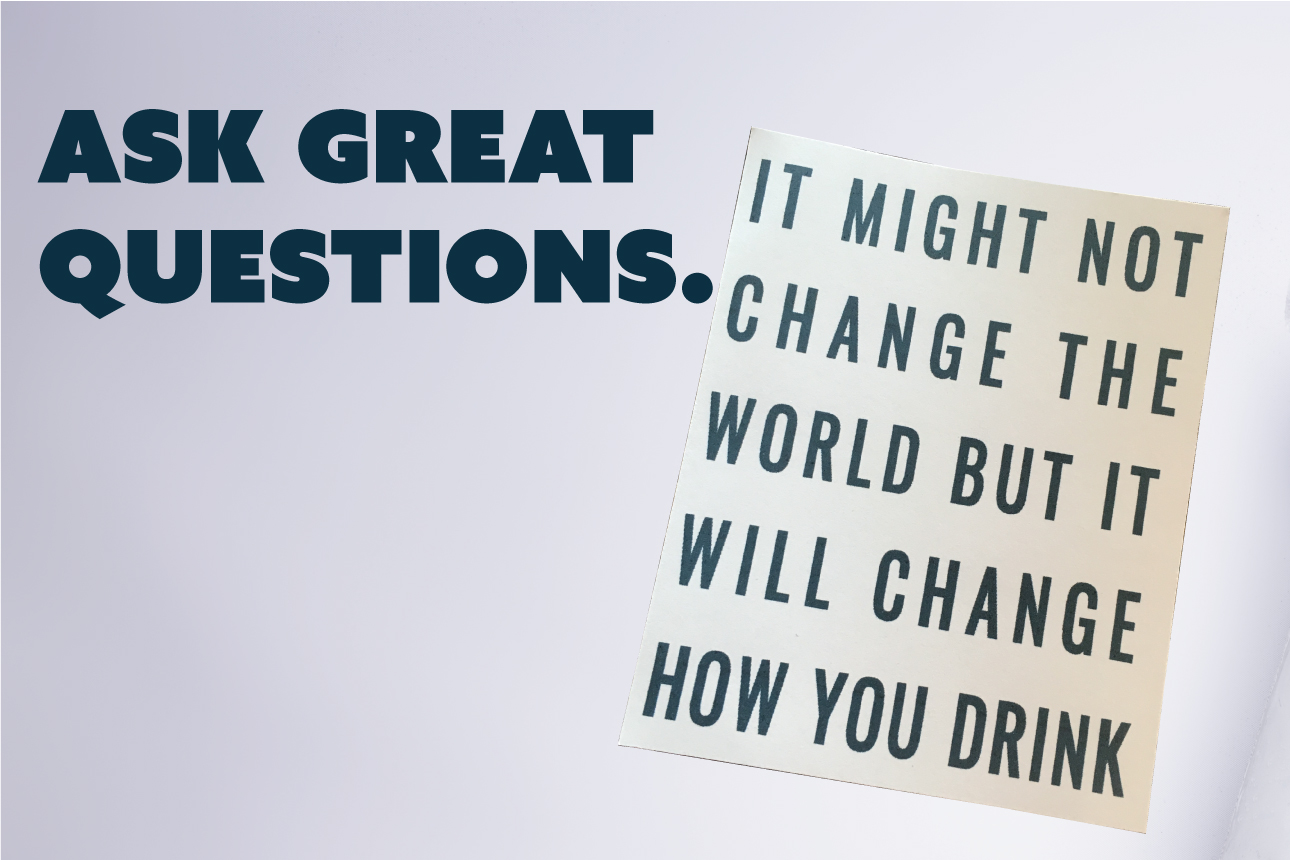 - If there is anything you are unsure of, or want to know more about, do not hesitate to fire off this form and we will be sure to help you out.After all, Drink In A Box is all about helping people change the way they drink at home.Let us begin, by helping you!
