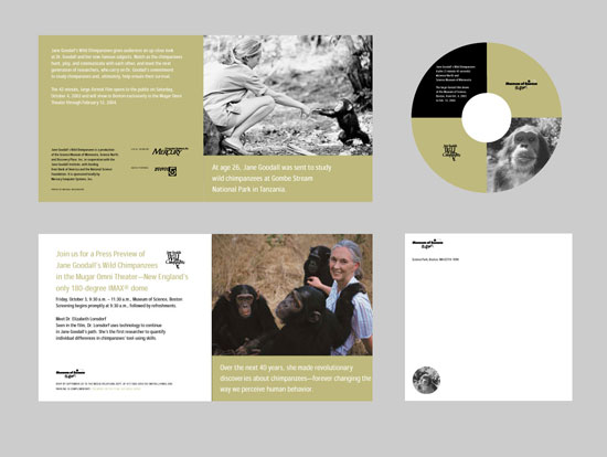 CD design for Museum of Science
