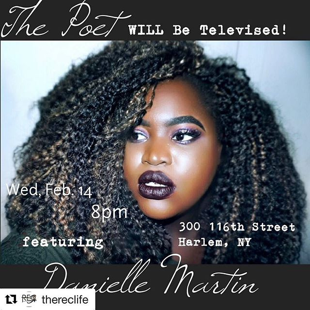 Can't wait to celebrate Valentines Day with my #thepoetwillbetelevised family💕💕💕 #Repost @thereclife with @get_repost ・・・ Can't wait to see you all this #wednesday for our special #ValentinesDay show! Featuring @deviousdanid and @theofficialtoninicole!  Come out, hop on the #openmic list and #jam out with the band! $5 suggested donation! Dope #band!  #amazing food! In a prime location, easy to get to! #Harlems @silvanaharlem! Doors open at 730pm! Sign up for the open Mic online! More information on our website, www.thereclife.org