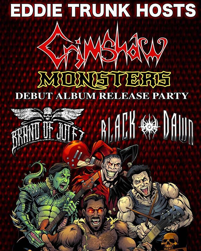 """So excited to be performing tomorrow night at my friends @crimshawofficial official #albumreleaseparty at @arlenesgrocery!!! This will be the first time ever we perform our collab """"Black Lagoon"""". Hope to see you there✨✨✨✨✨✨"""