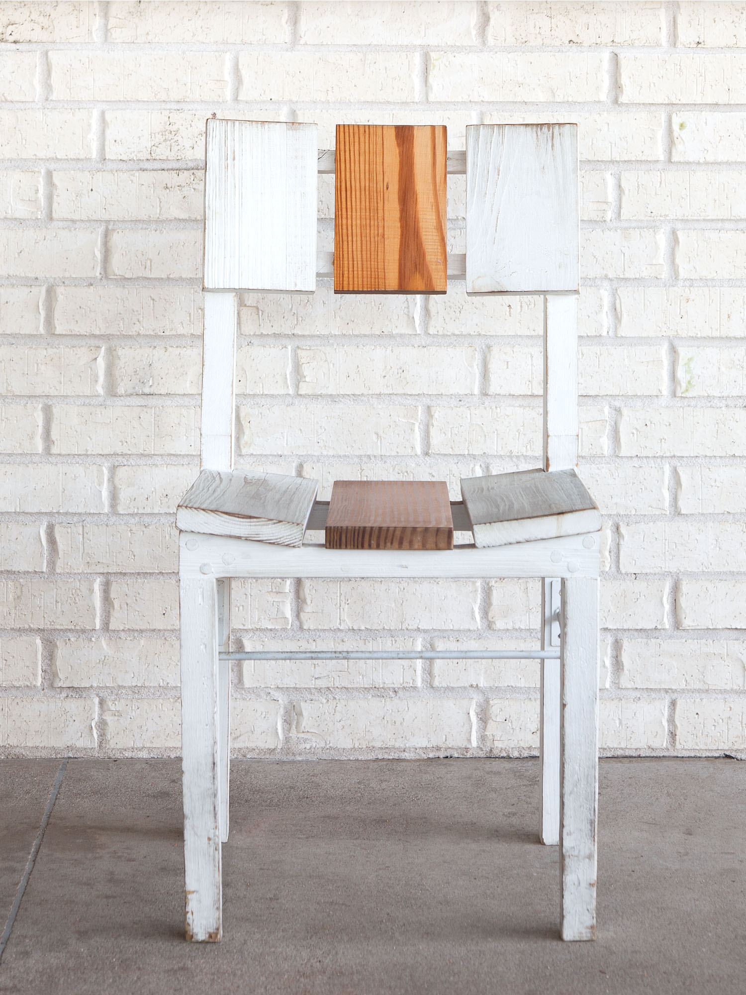 McCray & Co. - St. Philip - Custom Patio Side Chair  , Front View