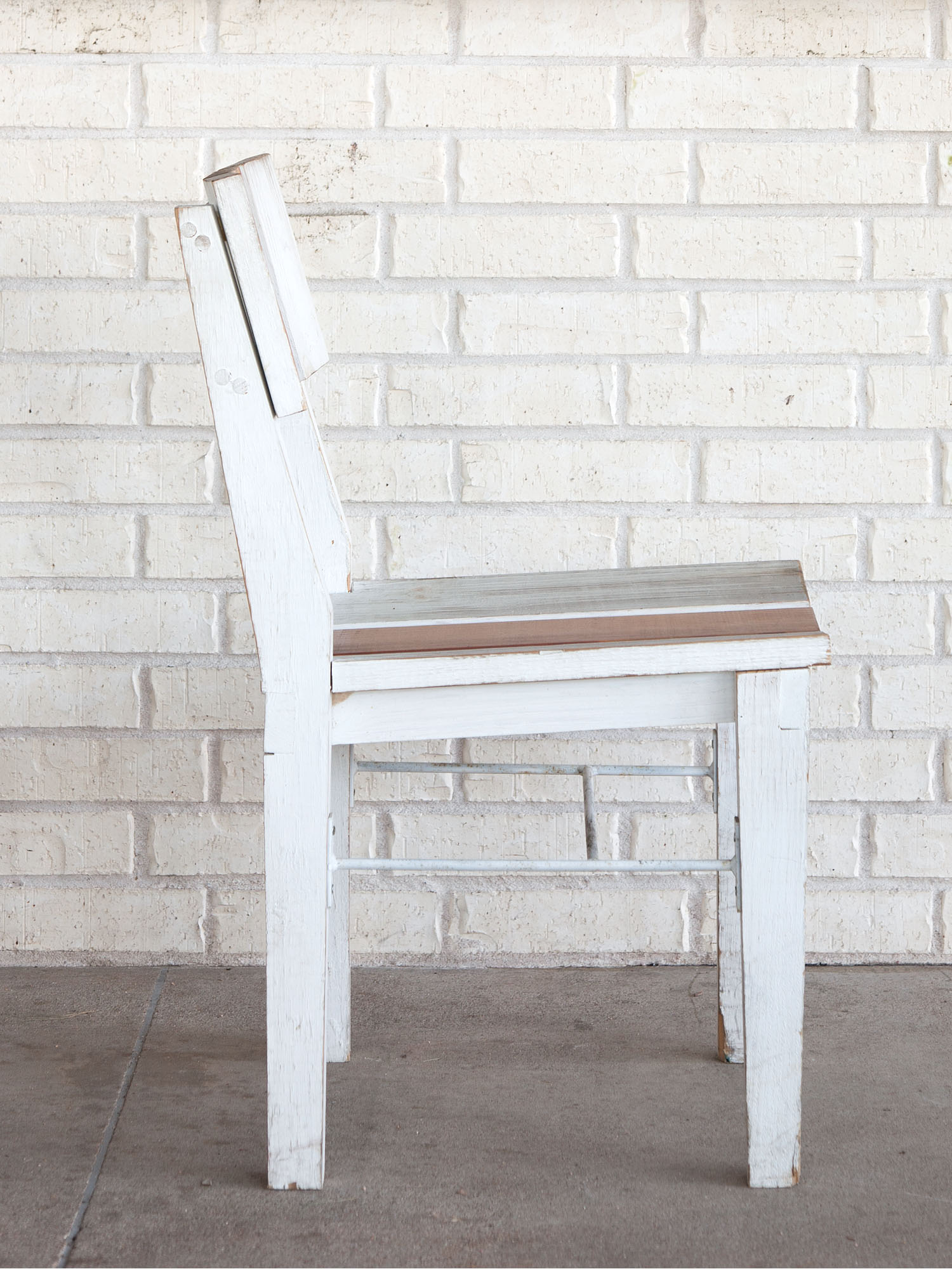 McCray & Co. - St. Philip - Custom Patio Side Chair  , Side View