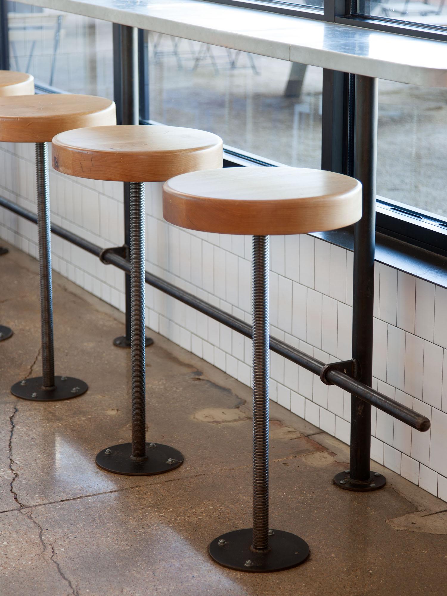 McCray & Co. - St. Philip - Custom Bake Shop Stools