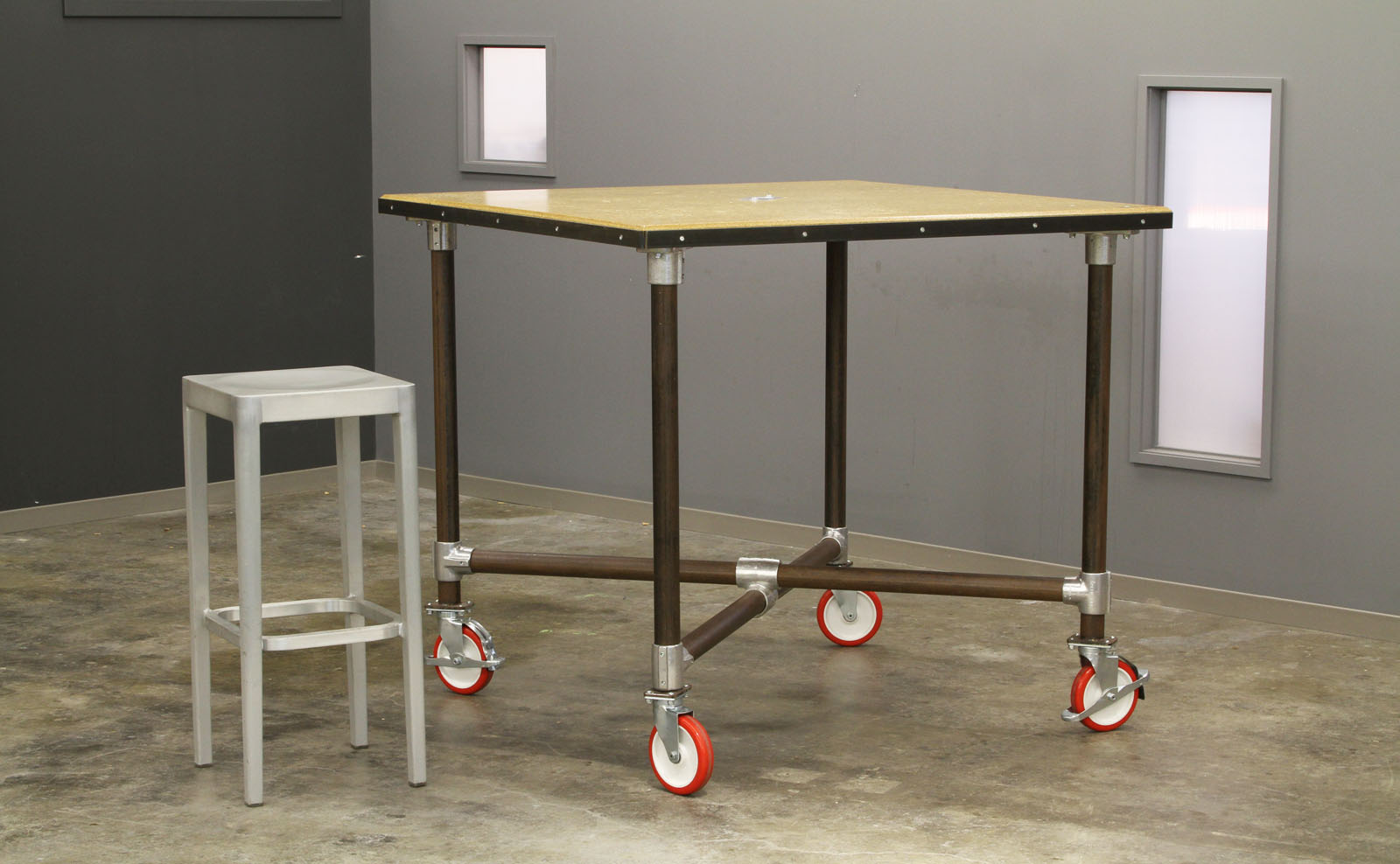 McCray & Co. - COLAB - Stool + Custom Table