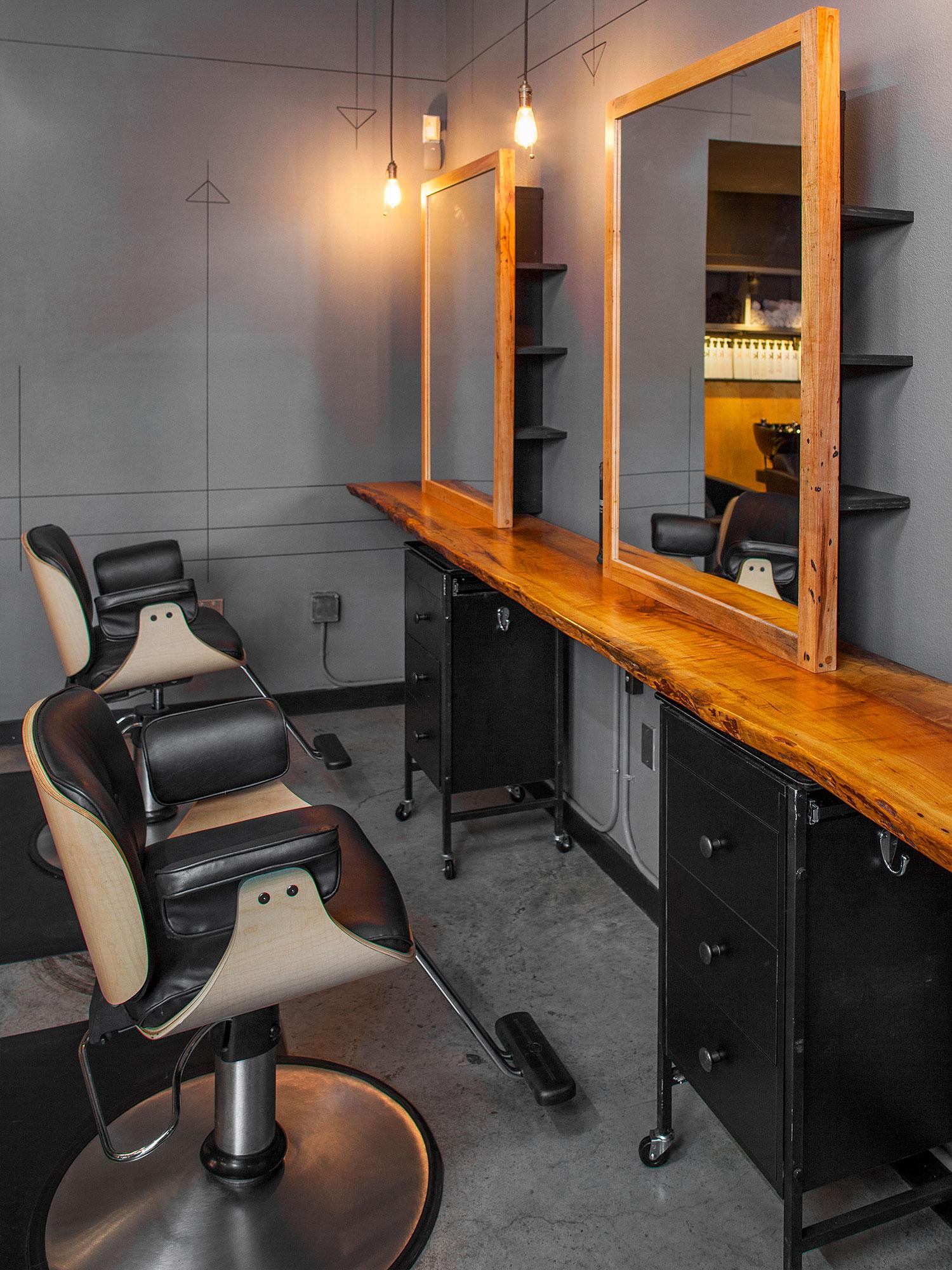 McCray & Co. - Method.Hair - Interior Detail
