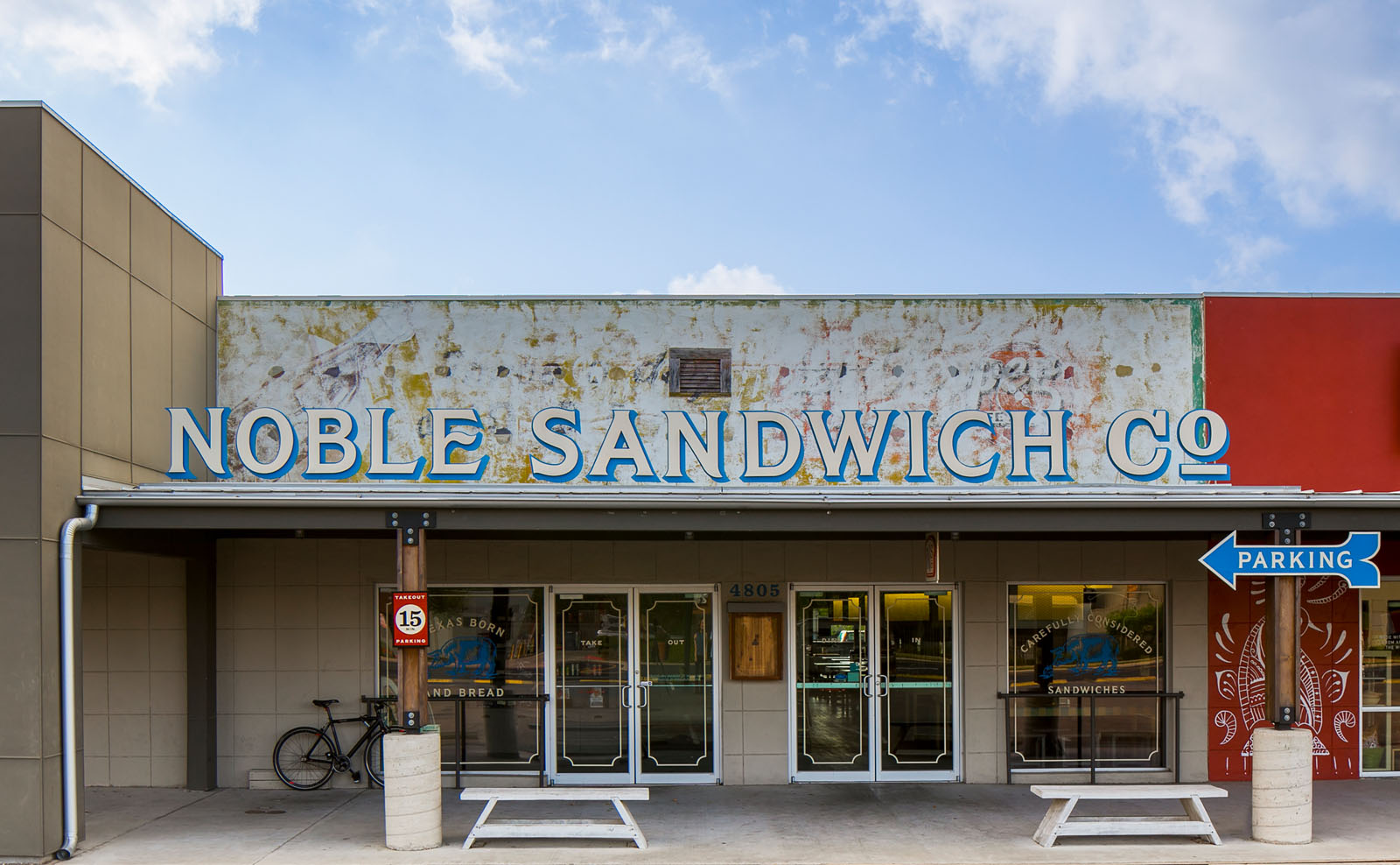 McCray & Co. - The Noble Sandwich Co. - Exterior