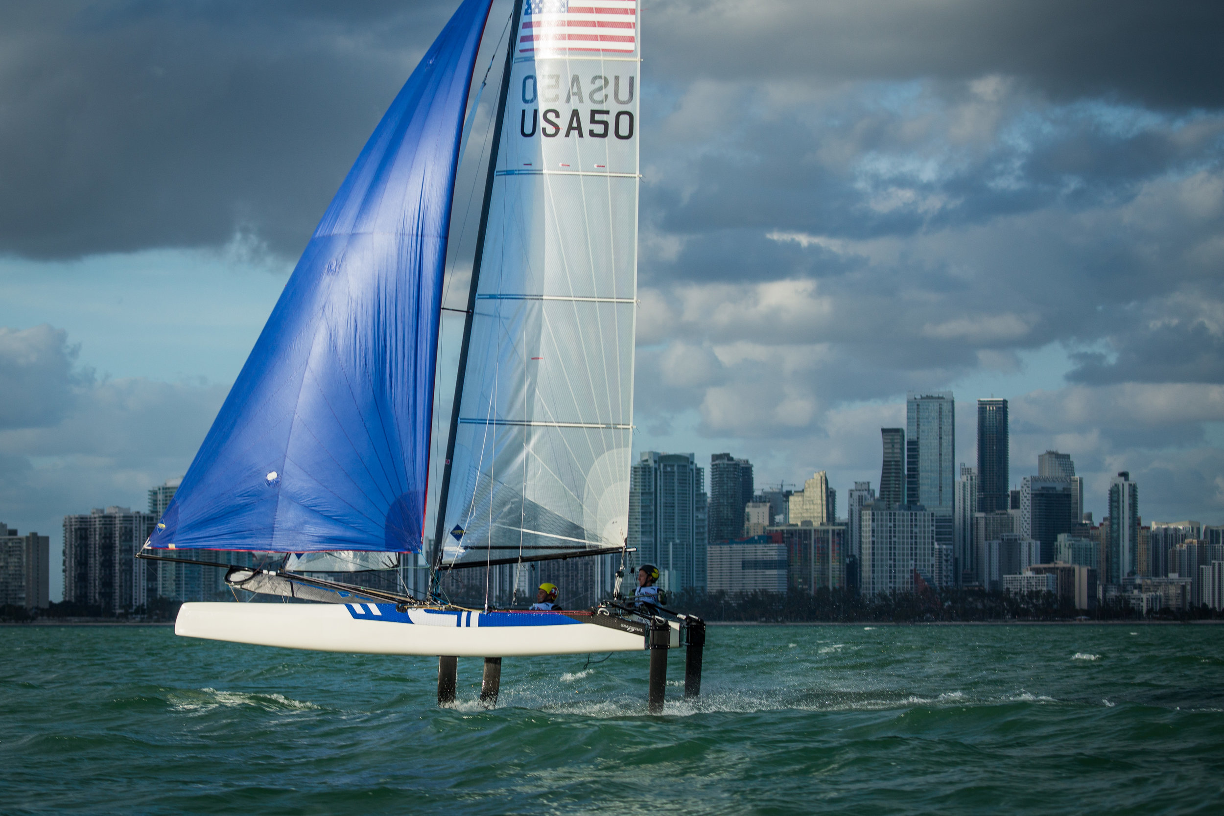 Join Us for a Night of Foiling, Sailing Expertise, and Tokyo 2020! - Monday April 30th | 7:00 - 10:00 PM| CRYC