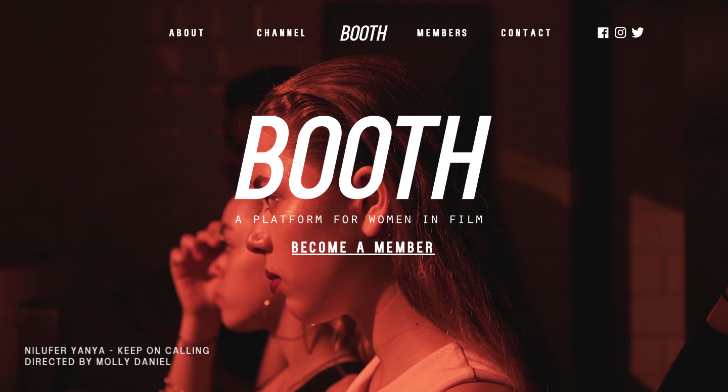 Booth: Women in Film