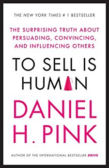 To Sell is Human by Daniel Pink. - Really helped me get over my instinctive aversion to sales! - Claire Pettitt, Head of Operations at YouCanBook.Me