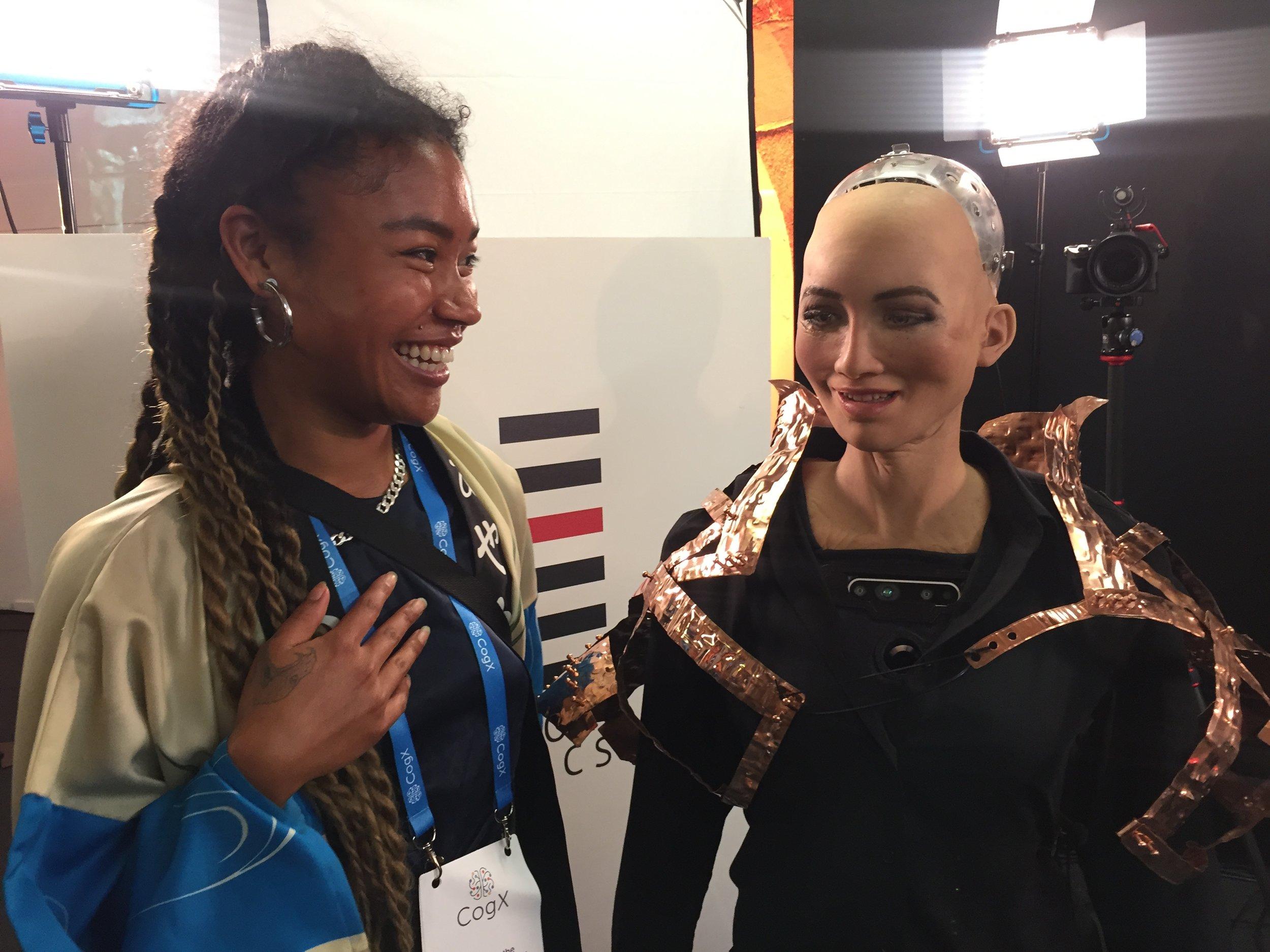 sophia (the robot) -