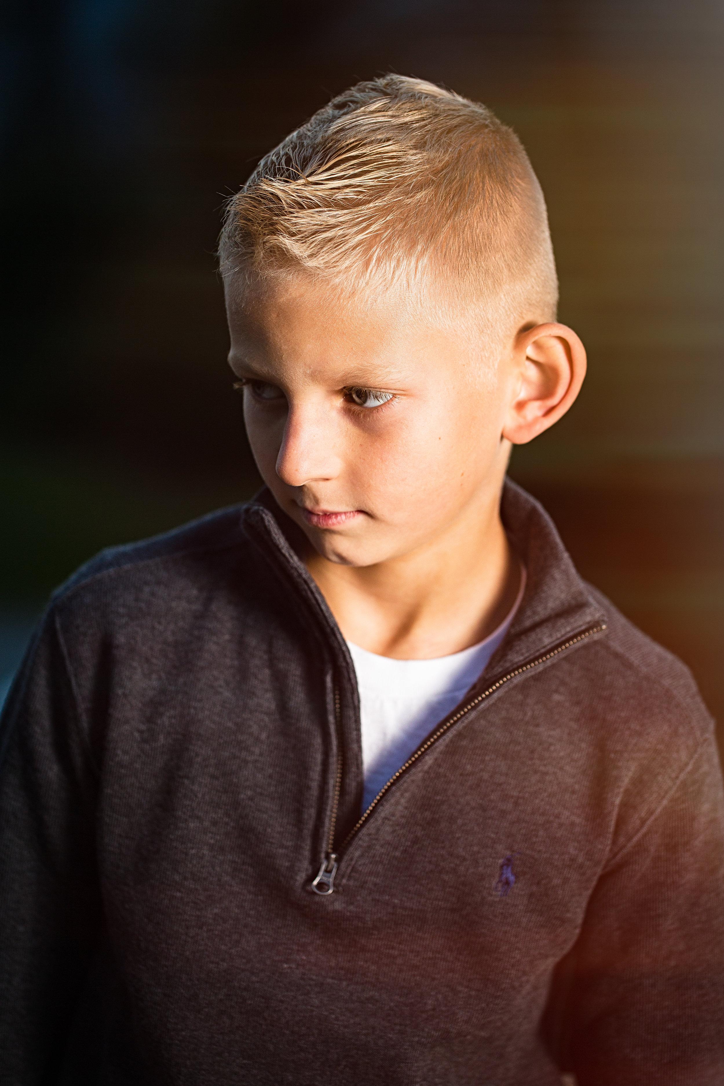 Portrait of a boy 3