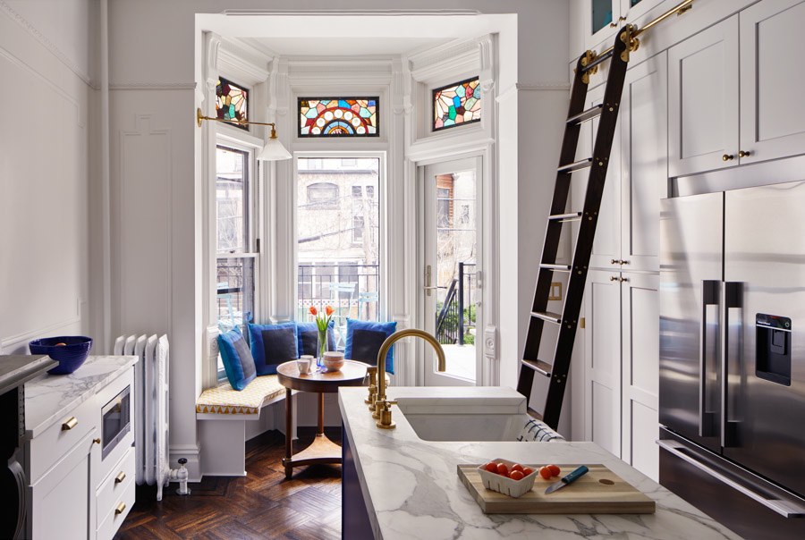 - Design*SpongeA Landmarked Park Slope Brownstone Awakens with Vibrant ColorApril 2017