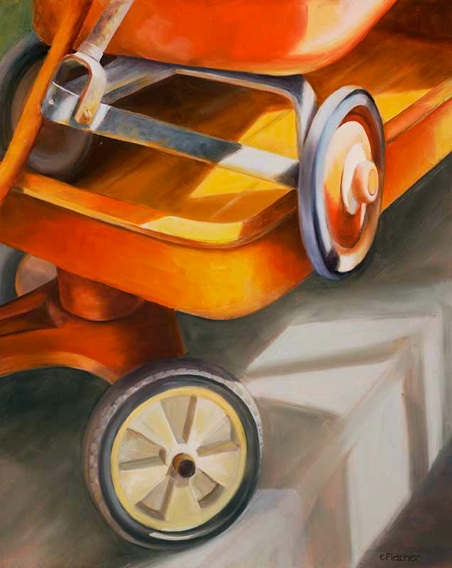 Want a Ride?  - 16x20 - Oil on Panel - $950.00