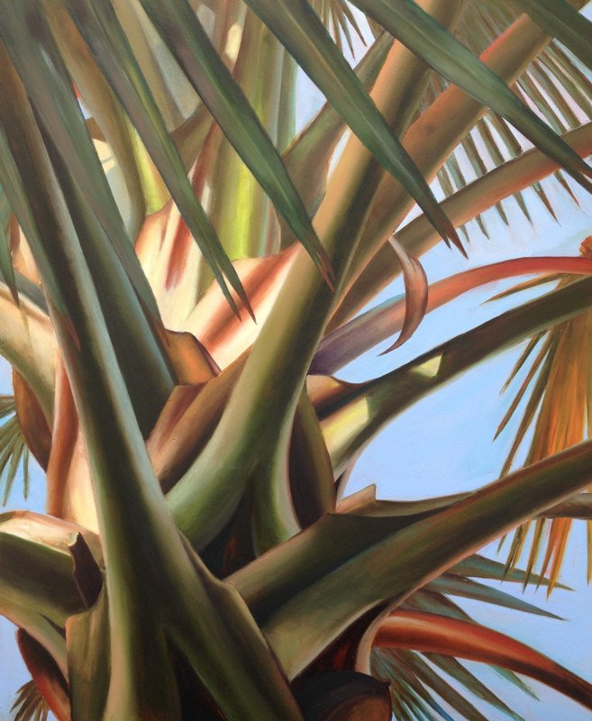 Dawn Palm - 20x24 - Oil on Panel - SOLD