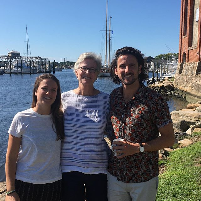 Got to spend 5 days in Mystic Connecticut with my far flung family!