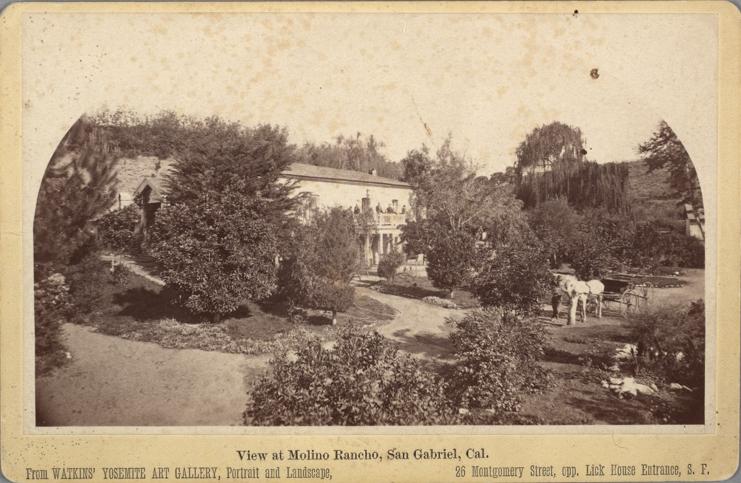 Molino Rancho, 1870's