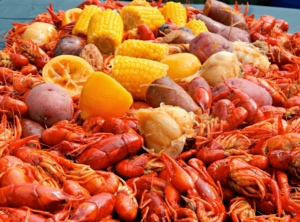 May 25 Crawfish boil - We love Louisiana Cookin' and we're fixin' to have a crawfish boil! $39 includes: all you can eat crawfish, boiled potatoes, local corn on the cob, house made Andouille sausage