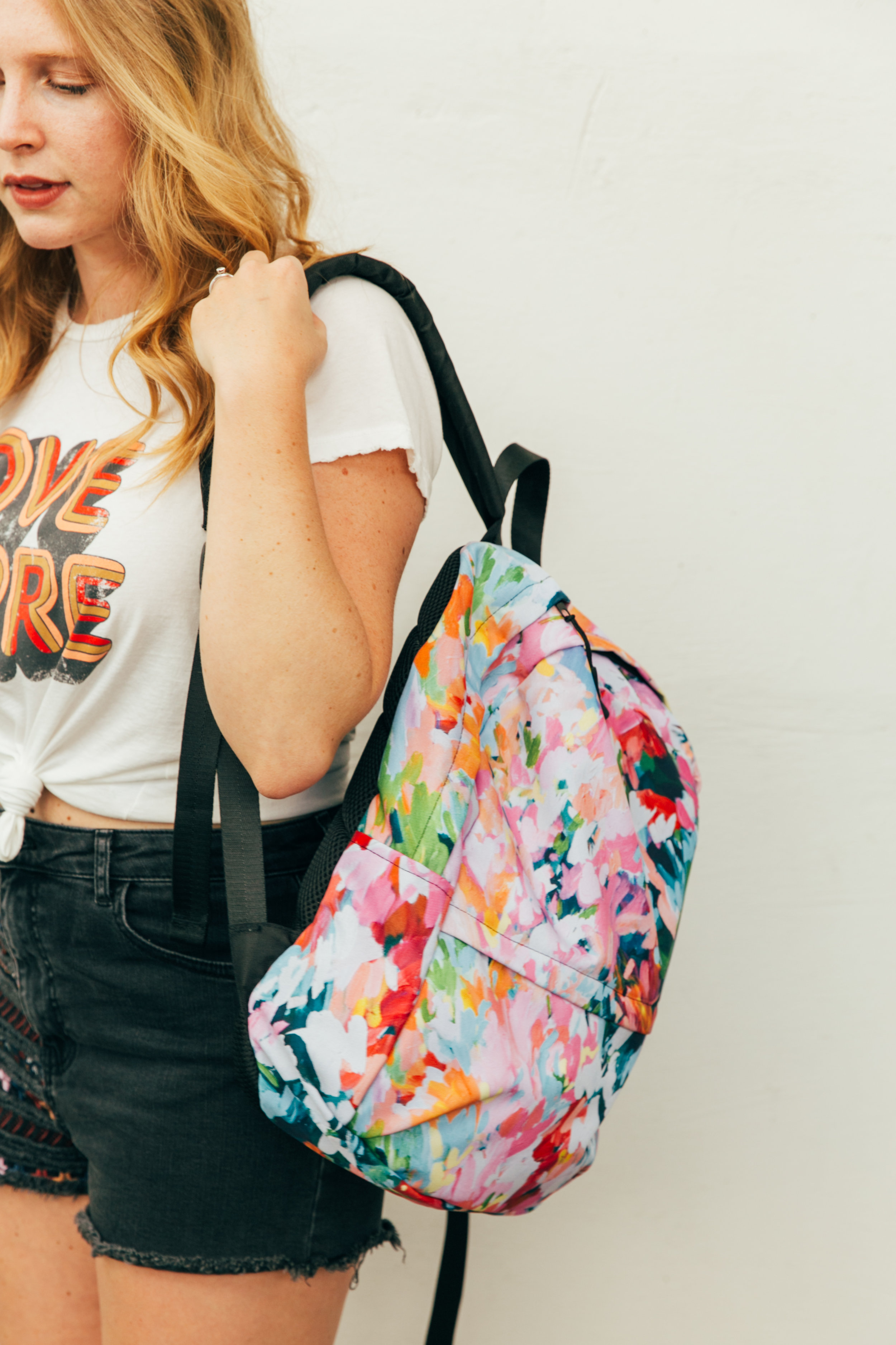 Taylor Lee Paints :: Original Design Las Paletas Mameys Backpack