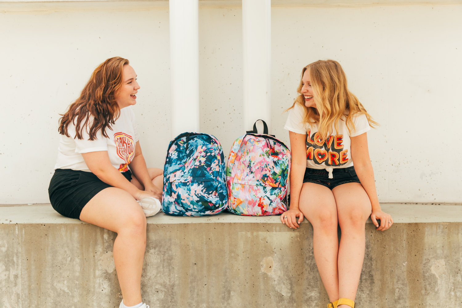 Taylor Lee Paints Backpack Design