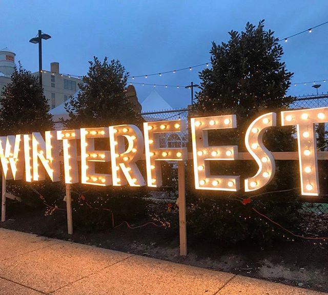 Guys! Weekend 2 is about to start at #winterfestwg @wundergartendc! #makersmarket #beergarden #treelot