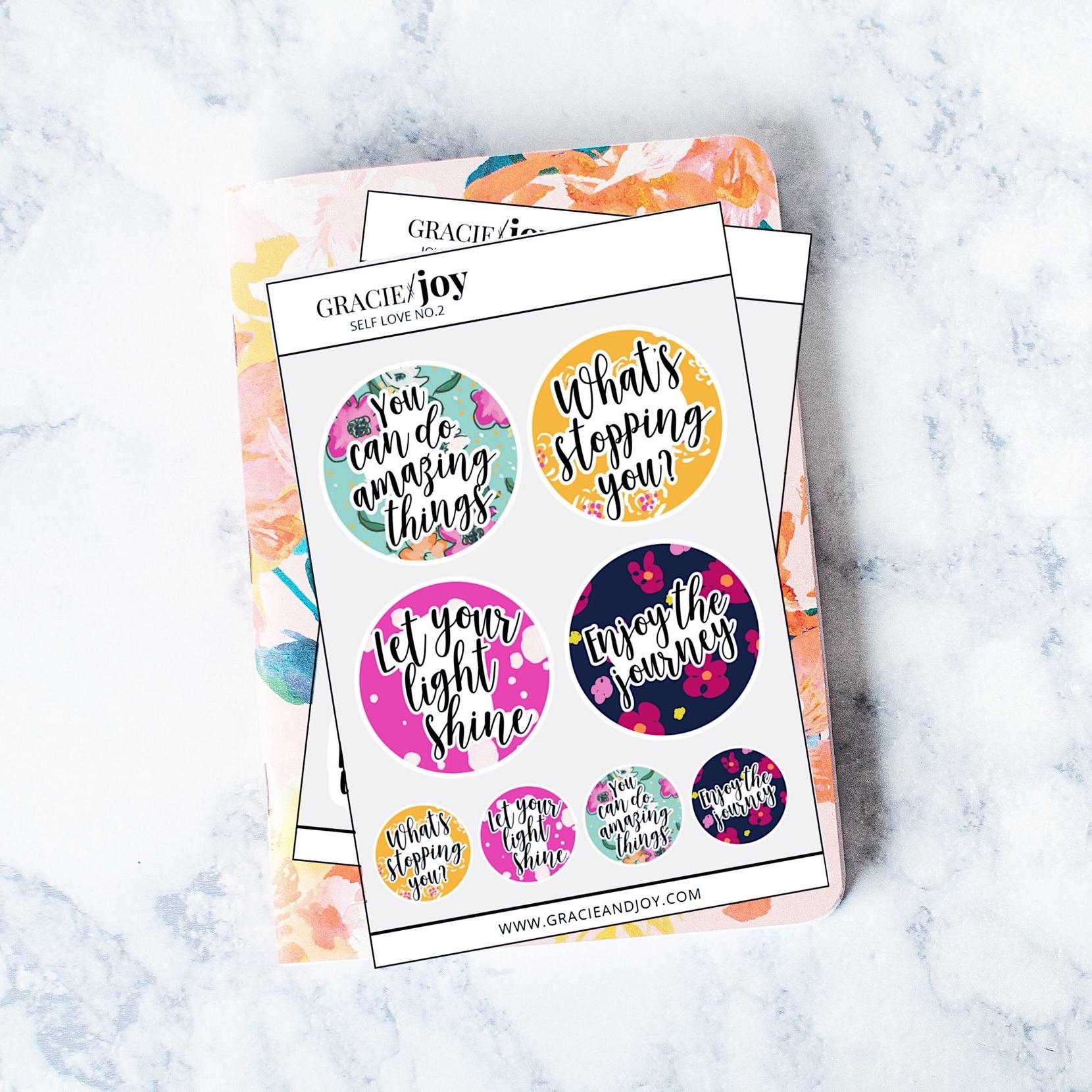 Matte Sticker Sheets -