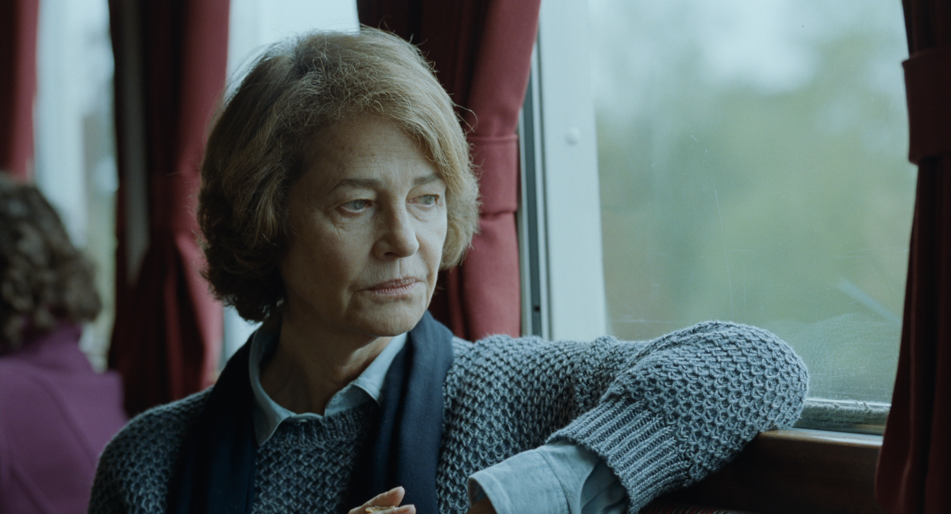 Charlotte Rampling as Kate in Andrew Haigh's  45 Years.