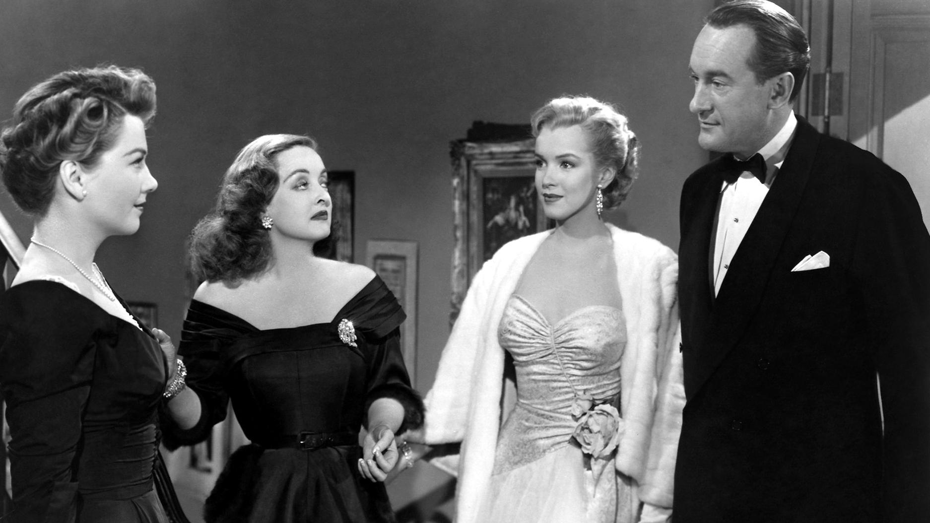 All About Eve, Anne Baxter, Bette Davis