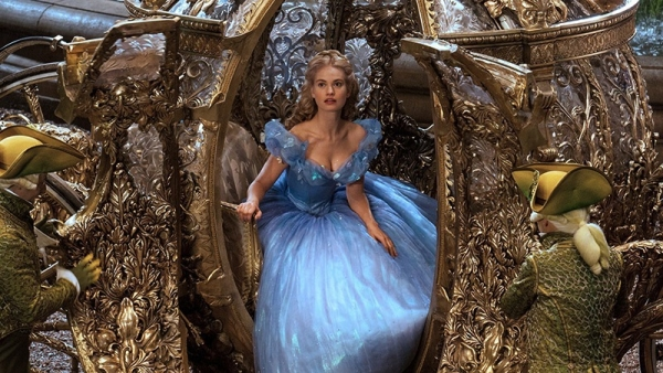 Cinderella, Lily James, Kenneth Branagh, Disney, Live action remake
