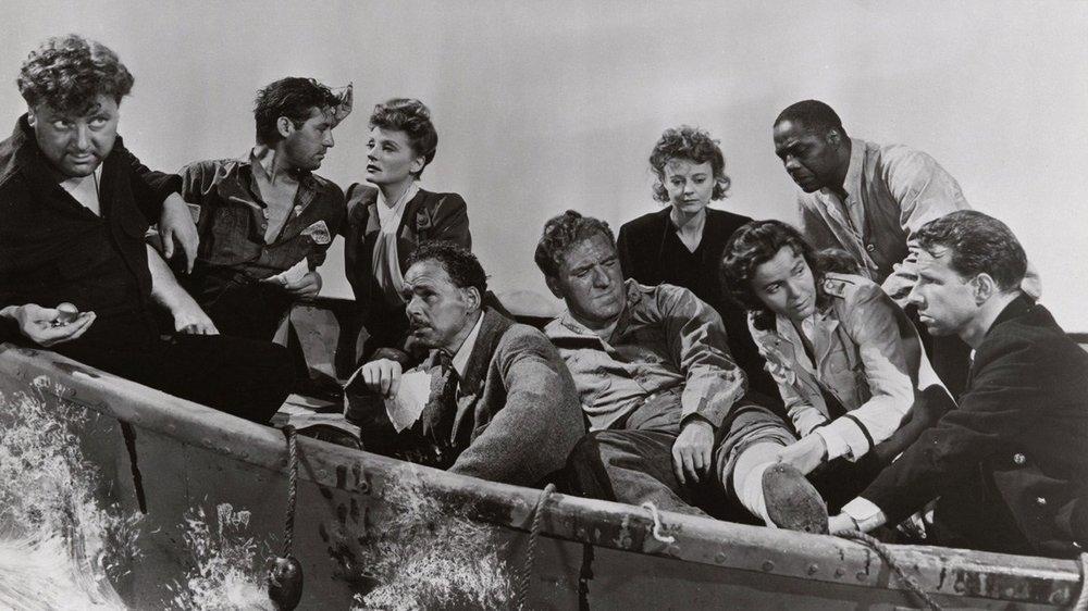 Lifeboat (1944) – Drama, War