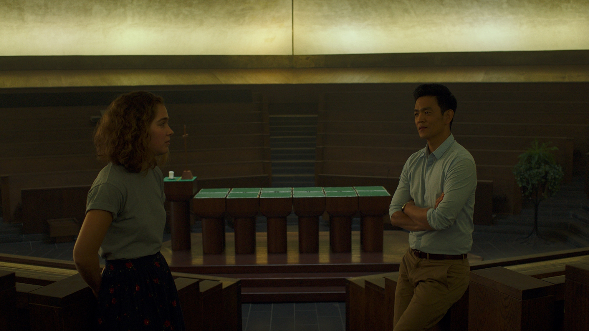 john cho, haley lu richardson, columbus, columbus movie, kogonada,