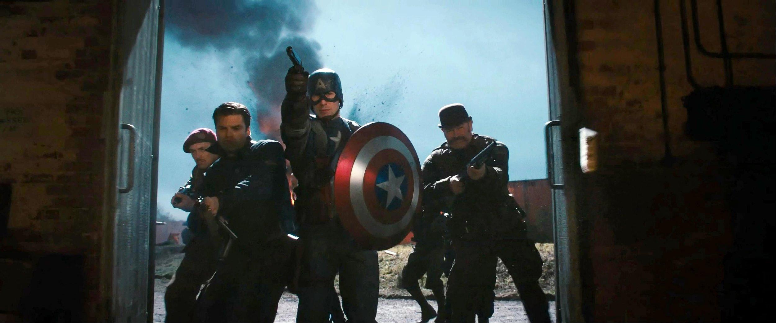 captain america the first avenger marvel cinematic universe
